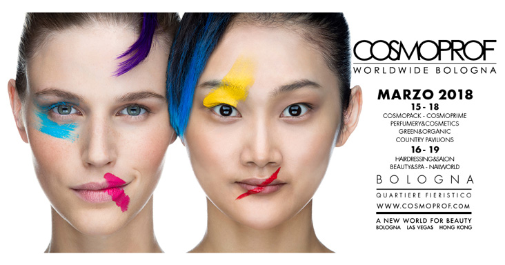 The most exclusive news only at Cosmoprof 2018